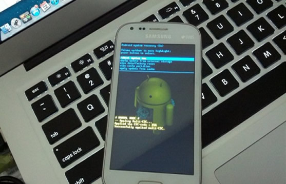 Enter Android Recovery Mode with PC