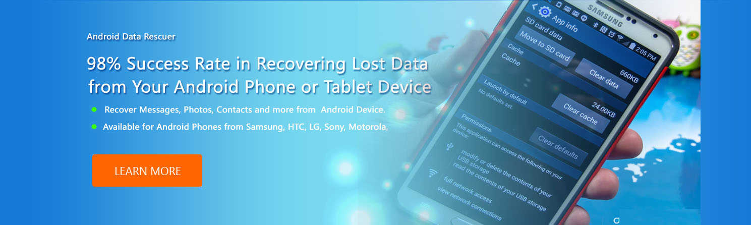 Android recovery  Software Banner