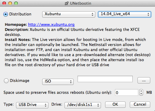 UNetbootin Mac Burning Software