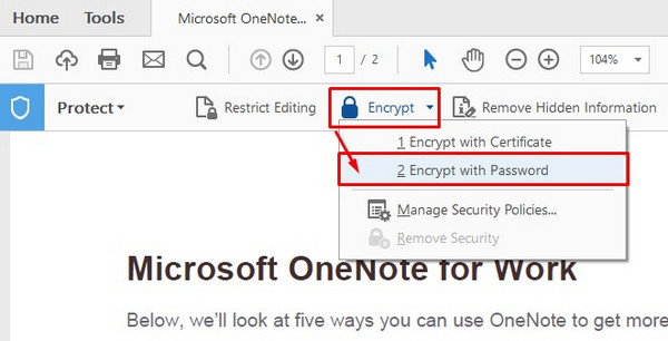 How to Password Protect a PDF with Adobe Reader and Word