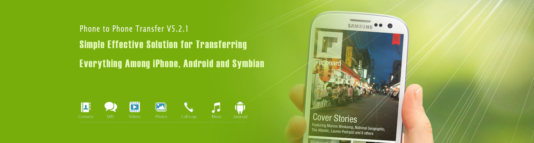 mobile phone Transfer Software Banner
