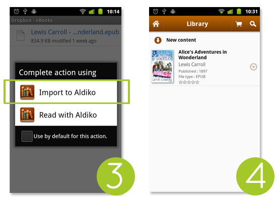 Aldiko for Android