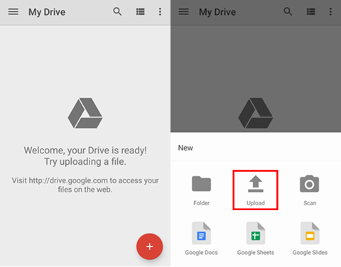 Backup G5/G4/V10 with Google Drive