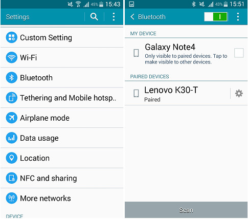 How to Transfer Files via Bluetooth for Android