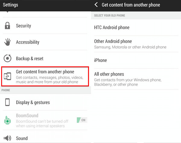 How to Transfer Text Messages from iPhone to HTC U11/10