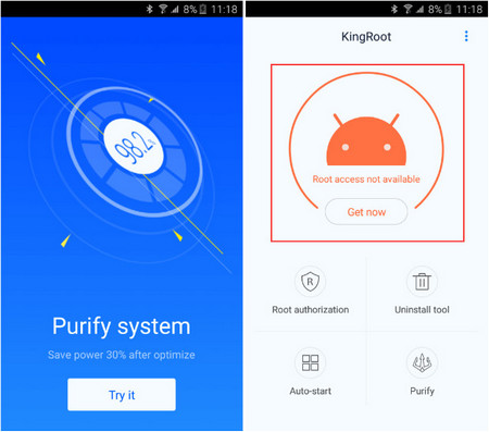 kingroot apk root without pc