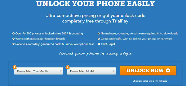 How to unlock samsung galaxy s4 via online code generator for free.