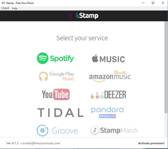 Transfer Spotify Music to Google Play on Windows