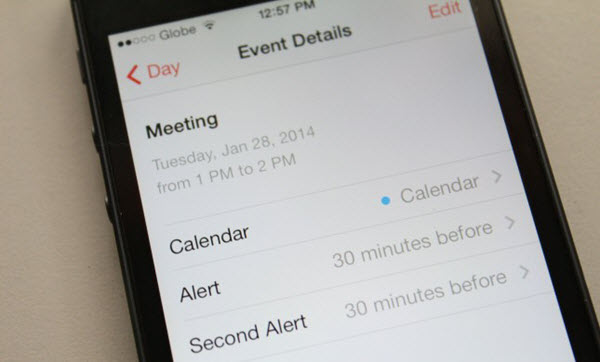 transfer iphone calendard to android