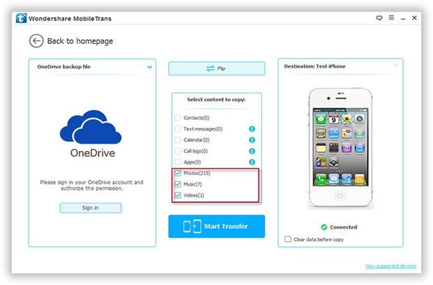 how to delete photos from onedrive nokia