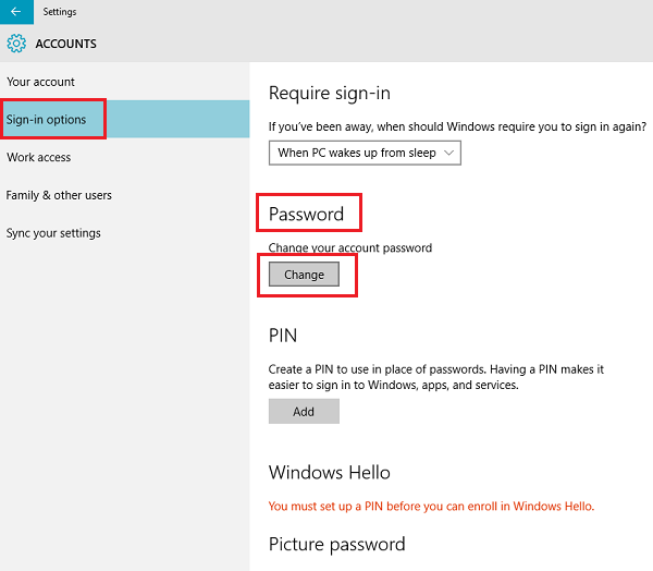 How to Change Windows 10/8/7 Computer Password If Forgotten